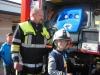 Feuerwehr bei der Übung