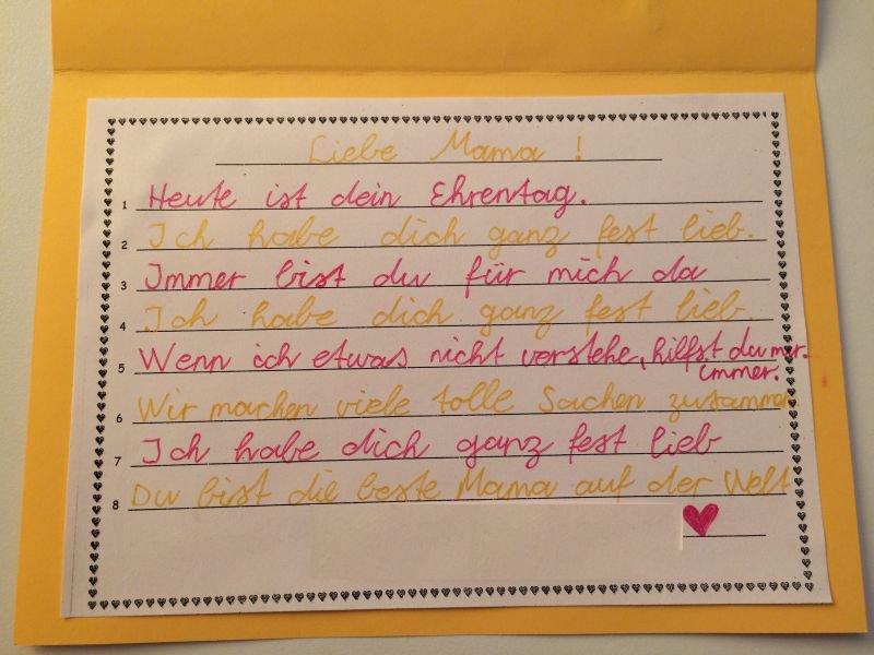 Gedicht zum muttertag ns22 startupjobsfa - Muttertag grundschule ...