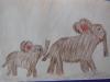 Mammutfamilie