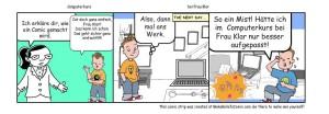 Schülerarbeit Gestaltung eines Comics